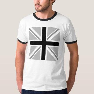 Union Jack/monocromo de la bandera Playera