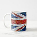 Union Jack Montage Basic White Mug