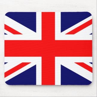 Union Jack Mousepad Tapetes De Raton