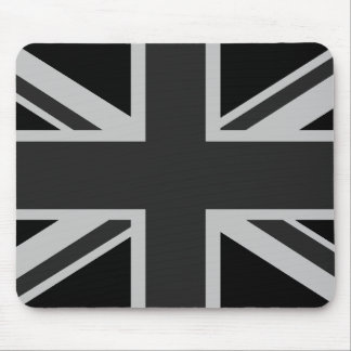 Union Jack negro Mousepad