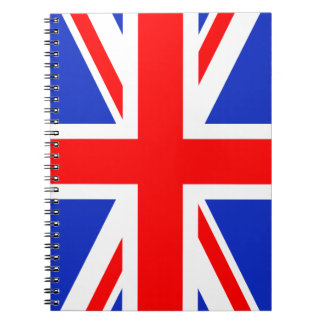 """UNION JACK"" NOTEBOOK"