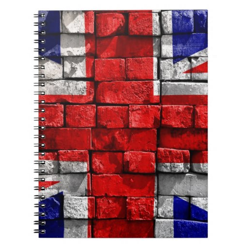 union jack note book