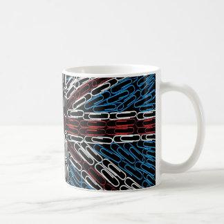 Union Jack of Paperclips Coffee Mug