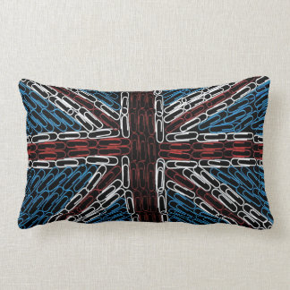 Union Jack of Paperclips Pillows