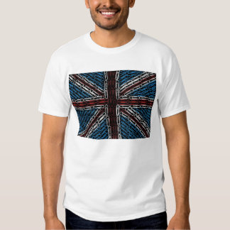 Union Jack of Paperclips T Shirt