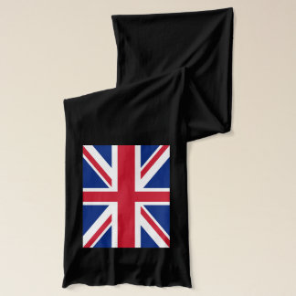 Union Jack on A Long Scarf