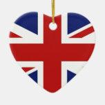 Union Jack Ornamento Para Reyes Magos