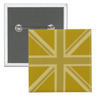 Union Jack/oros de la bandera Pins