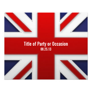 Union Jack Party Flyer/ UK Party Flyer