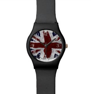 Union Jack patriótico, bandera de unión BRITÁNICA Relojes