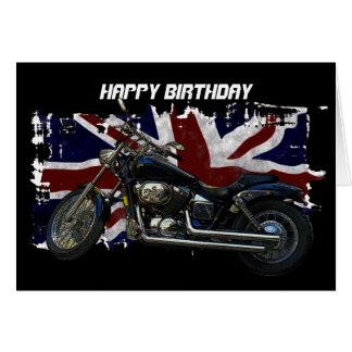 Union Jack patriótico, bandera de unión BRITÁNICA, Tarjeta De Felicitación