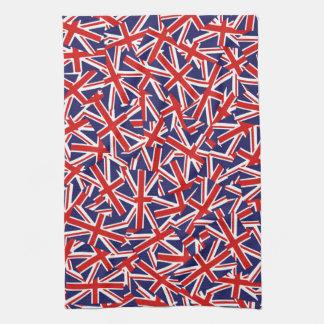 Union Jack Pattern Hand Towel