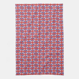 Union Jack Pattern Towel
