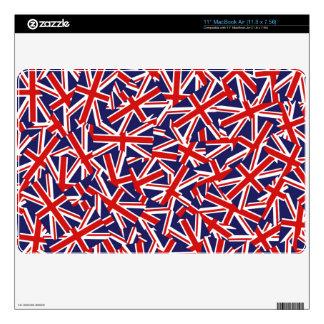 Union Jack Pattern Skin For MacBook