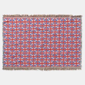 Union Jack Pattern Throw Blanket