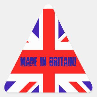 Union Jack Pegatinas De Trianguladas