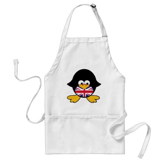 Union Jack Penguin Adult Apron