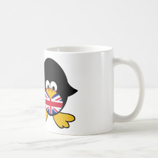 Union Jack Penguin Coffee Mug