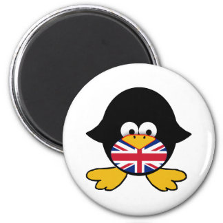 Union Jack Penguin Magnet