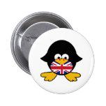Union Jack Penguin Pins