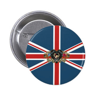 Union Jack Pinback Buttons