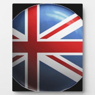 """""""Union Jack"""" Photo Plaque"""