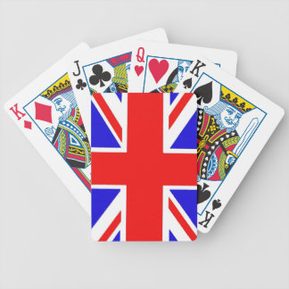 Union Jack playing cards. Bicycle Playing Cards
