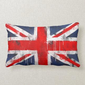 """Union Jack - Polyester Lumbar Pillow 13"""" x 21"""""""