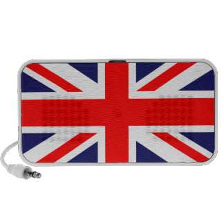 Union Jack Portable Speaker for phones & tablets