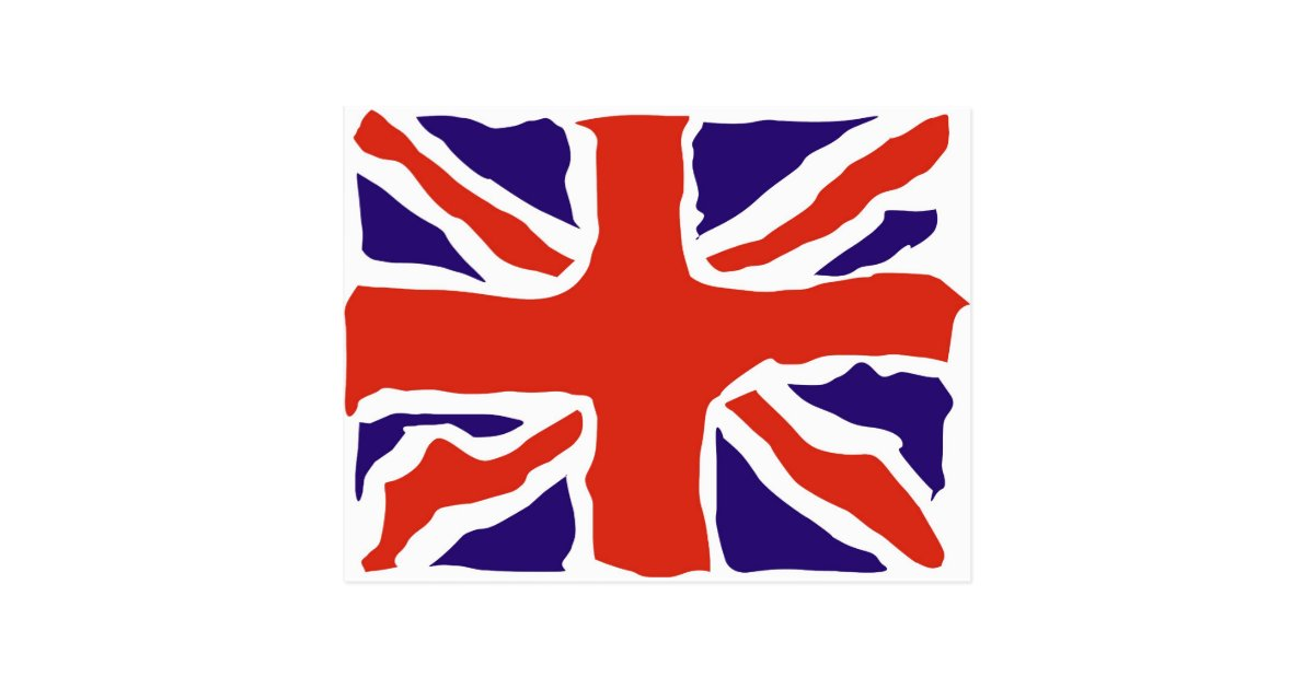 Schoudertas Union Jack : Union jack postcard zazzle