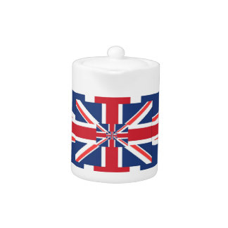 Union Jack Pyramage Teapot