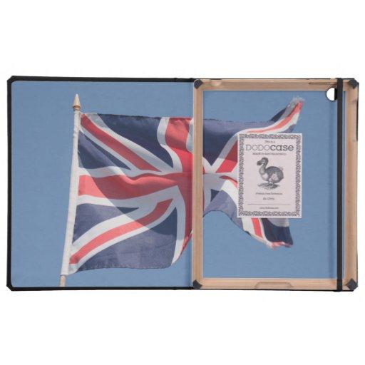 Union Jack que agita la bandera iPad Protectores