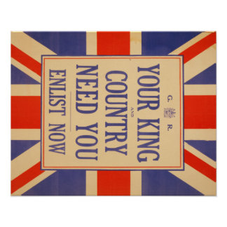Union Jack Recruit poster