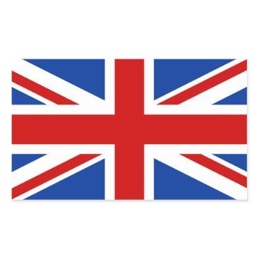 StillImages Union Jack Rectangular Sticker