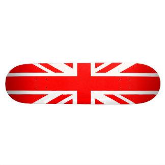 Union Jack Red Skateboard Deck