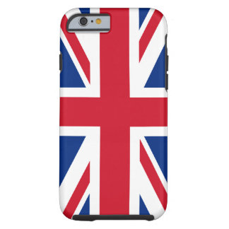 Union Jack Reino Unido Funda De iPhone 6 Tough