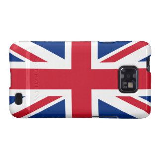 Union Jack Reino Unido Galaxy S2 Funda