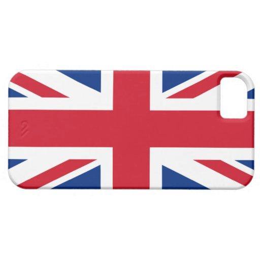 Union Jack Reino Unido iPhone 5 Case-Mate Protector