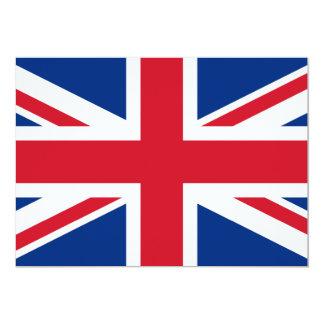 """Union Jack Reino Unido Invitación 5"""" X 7"""""""