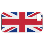 Union Jack Reino Unido iPhone 5 Case-Mate Funda