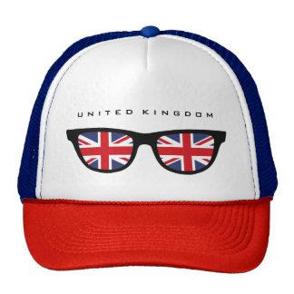 Union Jack Reino Unido sombrea el gorra de encargo