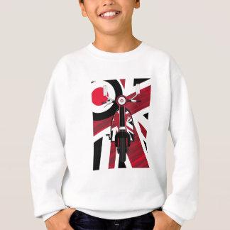 Union Jack Retro Mod Scooter Sweatshirt