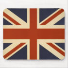 Union Jack Retro Mouse Pad