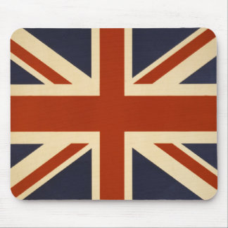 Union Jack Retro Mouse Pad