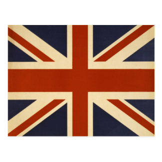 Union Jack Retro Postcard