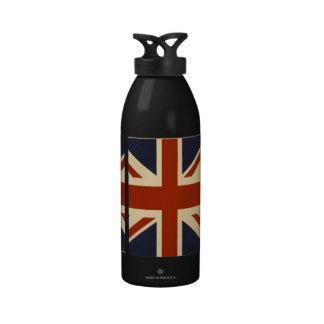 Union Jack Retro Drinking Bottle