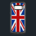 "Union Jack Samsung Galaxy S8 Case<br><div class=""desc"">The Union Jack or Union Flag, is the national flag of the United Kingdom. The Union Jack flag also has an official or semi-official status in some other Commonwealth realms; for example, the Union Jack is, by parliamentary resolution, an official flag in Canada and known there as the Royal Union...</div>"