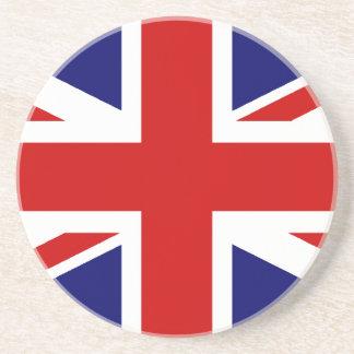 Union Jack Sandstone Coaster