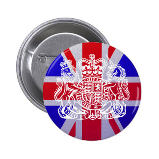 Union Jack Seal Button