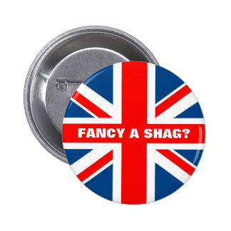 Union Jack shag Button